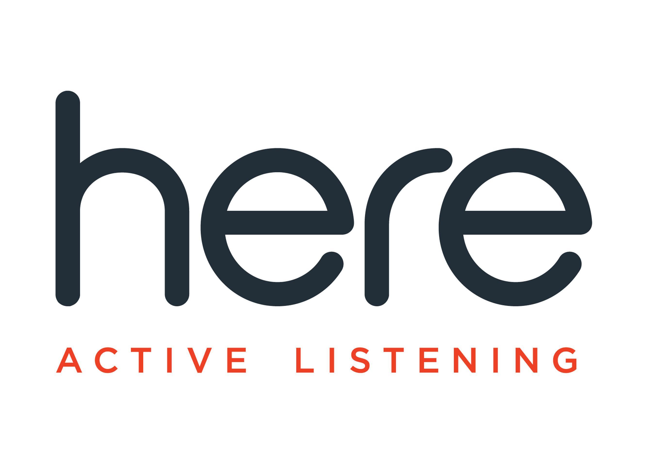 Here Active Listening Logo (PRNewsFoto/Doppler Labs)